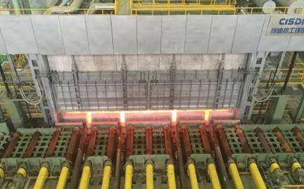 宝钢集团湛江2250mm热轧加热炉